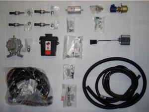 Gas kit of motor